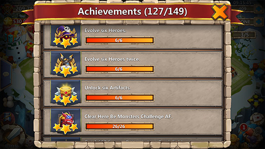 Castle-clash-tips-achievements