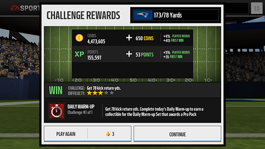 madden-nfl-mobile-tips-daily-warm-up
