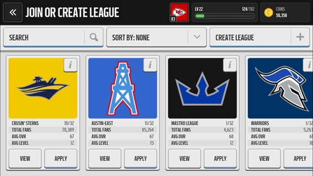 madden-nfl-mobile-tips-leagues