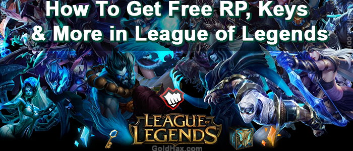 How to Get Free Riot Points and More for League of Legends - Gold Hax