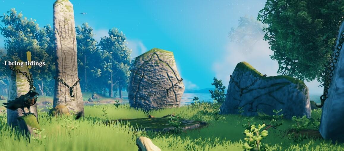 Valheim starting zone sacrifice stones